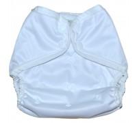 Непромокаемый чехол. Белый. На кнопках (3,5-15 кг)