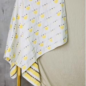 4х слойный плед из 100% хлопка, который можно использовать в качестве полотенца и одеяла.