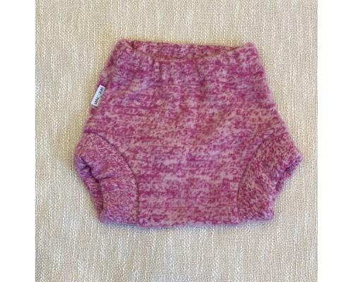Мериносовые штанишки из валяной шерсти однослойные. Фуксия