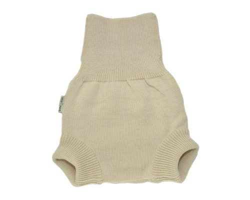 Мериносовые штанишки с высоким поясом