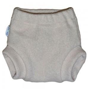 Двухслойные мериносовые штанишки из валяной шерсти