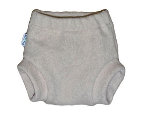 Однослойные мериносовые штанишки из валяной шерсти