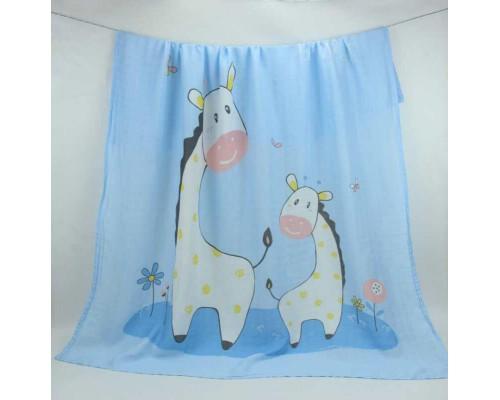 Муслиновая пеленка. Жирафы