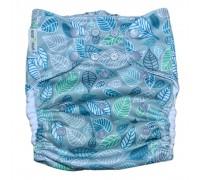 Подгузник Классика с карманом Pocket. Листики