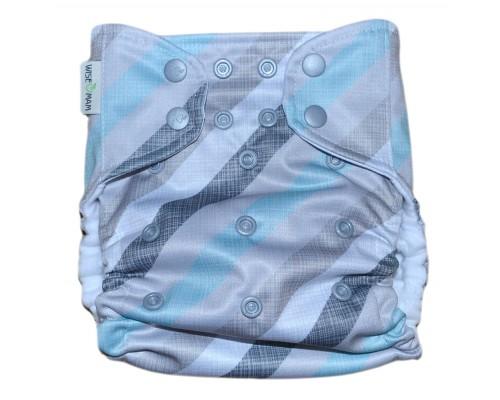 Подгузник Классика с карманом Pocket. Полосы
