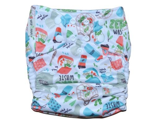 Подгузник Классика с карманом Pocket. Zero Waste
