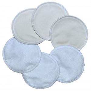 Хлопковые вкладыши для кормящих мам, 6 шт