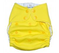 Подгузник Классика хлопковый. Жёлтый. (4-16 кг)
