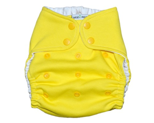 Подгузник Классика хлопковый. Жёлтый. (4-15 кг)